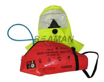 적능력/MED 15 최소한도 공기 압축공기 호흡기구 비상사태 도주 호흡 장치 - EEBD
